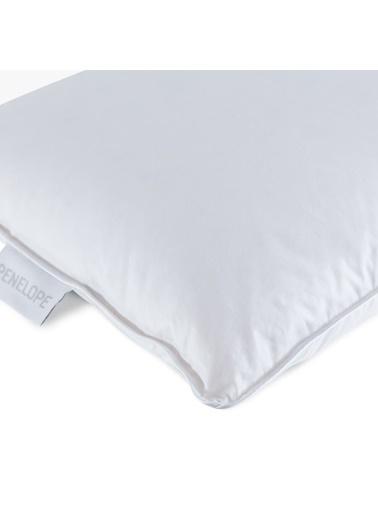 Penelope Bronze Kaz Tüyü Bebek Yastık 35x45 Beyaz